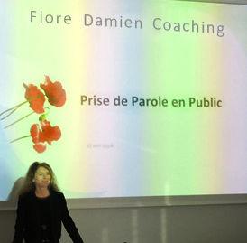 Flore Damien Coaching Prise de parole en public